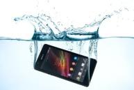 iphone en el agua