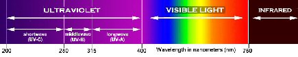Spectrum of Uv Light-BLW-58
